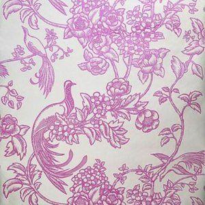 "Florence Broadhurst Wallpaper ""Birds of Paradise"""